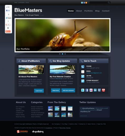 drupal themes easy 10 easy beautiful drupal themes
