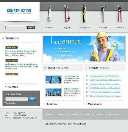 free construction website templates html templates free construction building free