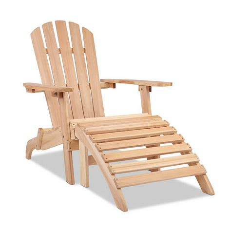 adirondack chair ottoman adirondack chair and ottoman set direct bargain