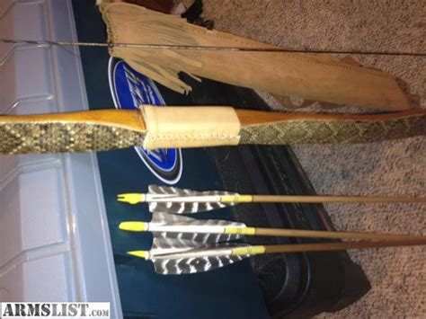 Handmade Bow And Arrow For Sale - armslist for sale bow handmade