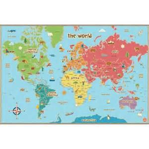 us map 8 1 2 x 11 wallpops world map decal walmart