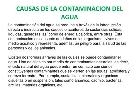 soneto sobre la contaminacin del agua ppt contaminaci 195 n del suelo powerpoint presentation
