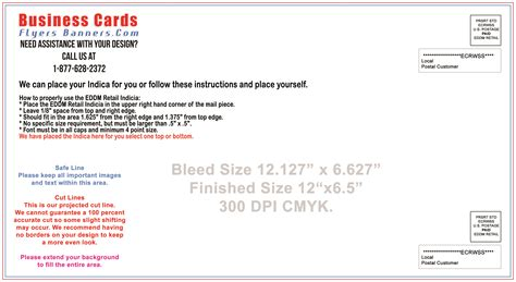 Usps Eddm Template Eddm Postcard Templates Free Shipping And Low Prices
