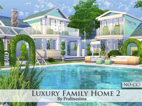 sims 2 luxury homes pralinesims luxury family home 2 sims 4 updates