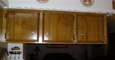 staining kitchen cabinets hometalk