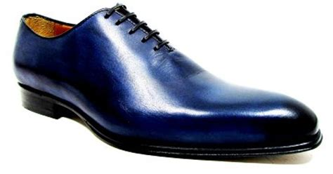 navy dress shoes for jose real whole cut dress shoe in blue for navy lyst