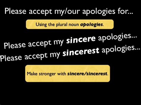My Apologies by Email Writing Apologising Phrases