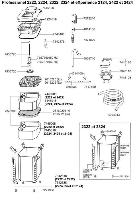 Pompa Aquarium Manual eheim pi 232 ces d 233 tach 233 es pour filtre externe eheim