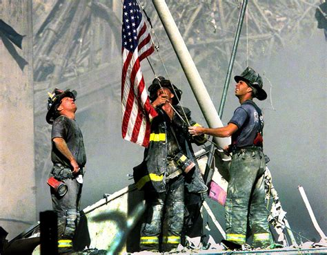 15 Years Since 9/11: Historic NYC Firefighter's Flag Rises