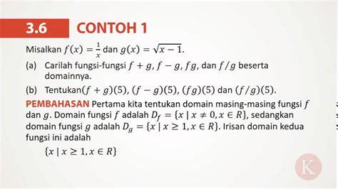 contoh  menerapkan operasi operasi dasar  fungsi