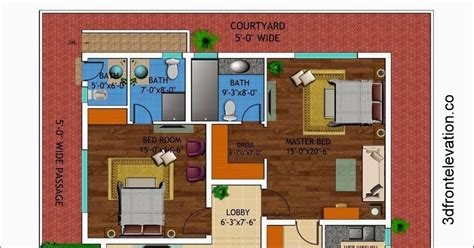 1 kanal house plan 3d front elevation com 1 kanal house drawing floor plans layout with basement in