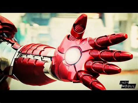 indy mogul backyard fx iron man 2 robot repulsor arm how to bfx youtube