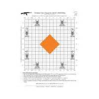 printable ak zero targets blackheart ak 47 zero targets 8 5x11 inches 25 pack bh 013 200