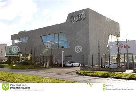audi germany headquarters audi company editorial photo image of markets facilities