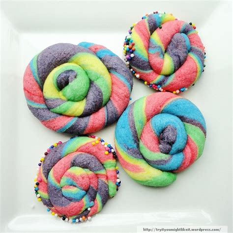 Rainbow Butter unicorn cookies try it you might like it