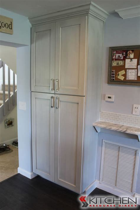 Shaker Pantry by Built In Pantry In Kitchen And Discount Kitchen Cabinets