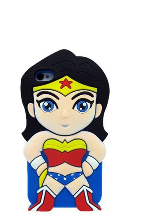 Cool Wine Glasses by Iphone 5 5s 4 4s Ipod Touch 5 Wonder Woman Cartoon