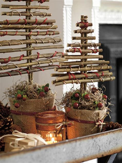 christmas tree made with twigs how to turn twigs into chic decorations s weekly