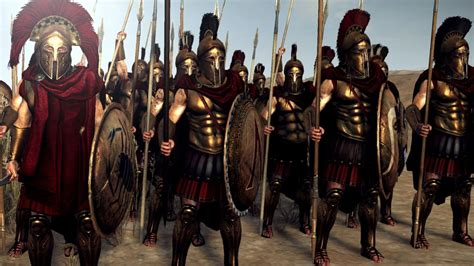 spartan war lord buio quot sparta anthology reskin quot news rome 2 update