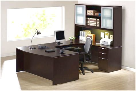 nice desk home design cozy office furniture with a decor that has a nice window