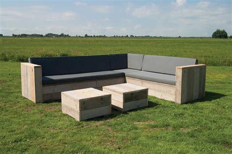 garten lounge gartenset eckbank aus unbehandeltem ger 252 stholz mit tisch