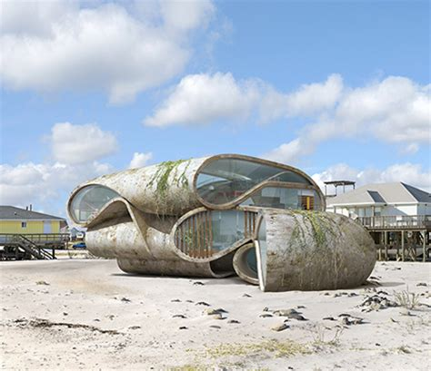 Home Design Fails Surrealist Disaster Proof Structures For Dangerous