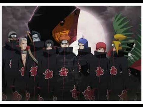 theme music naruto naruto akatsuki theme song full youtube