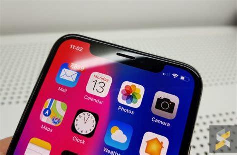 remove iphone x notch soyacincau