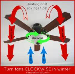 ceiling fan direction for winter tips sand and sisal