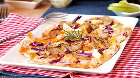German Comfort Food by German Inspired Pizza Is A New Take On Comfort Food