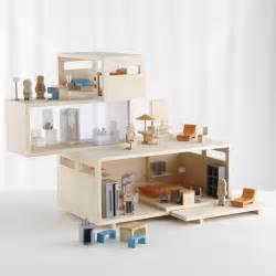 dollhouse modern modern dollhouse and furniture set miniature love