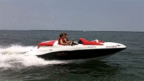 sea doo boat 215 hp seadoo speedster 150 255hp running from the storm1 youtube