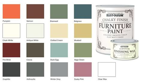 rust oleum chalk chalky colour chart rustoleum chalk