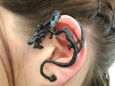 dragon tattoo behind ear the 25 best dragon ear cuffs ideas on pinterest dragon