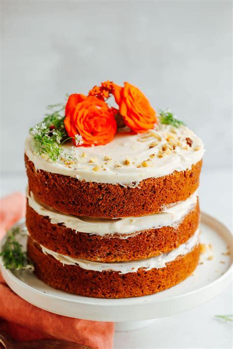 the best cakes vegan gluten free carrot cake minimalist baker recipes