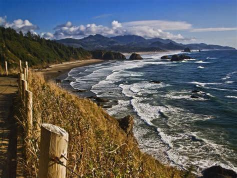coastline north of cannon beach ecola state park oregon