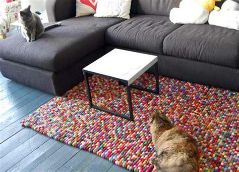 teppiche selber stricken diy teppiche und fu 223 matten bunt wohnen