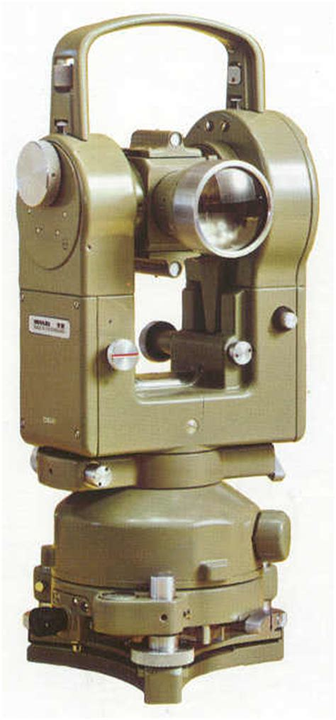 Jual Theodolite Manual T16 Second product overview theodolite from heerbrugg