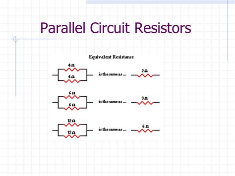 current parallel resistors chapter electric current ppt