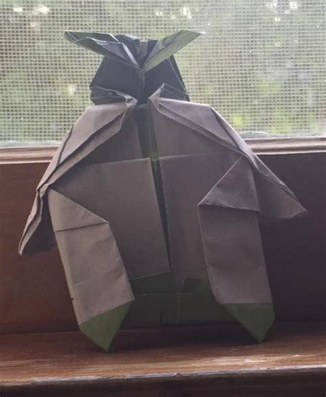 Origami Yoda Finger Puppet - finger puppet origami yoda
