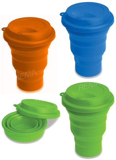 Silicone Foldable Cup Mould renjia travel cup silicone foldable cup
