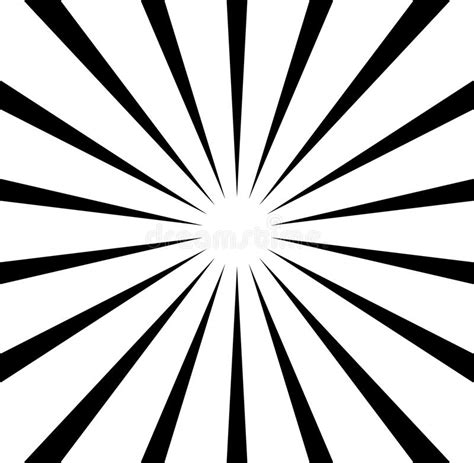 radial pattern black and white radial lines starburst sunburst pattern black and white
