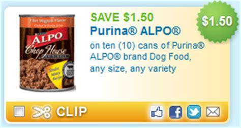 dog food coupons alpo alpo dog food coupon and sale