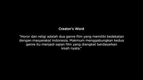 film horor makmum makmum youtube