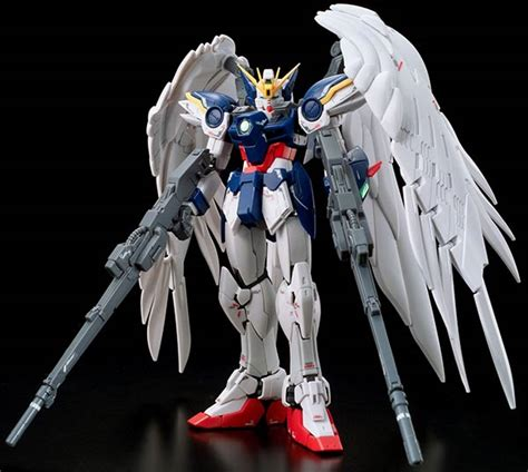 Gundam Converge Wing Zero Real Type Color rg wing gundam zero ew manual color guide mech9 anime and mecha review site