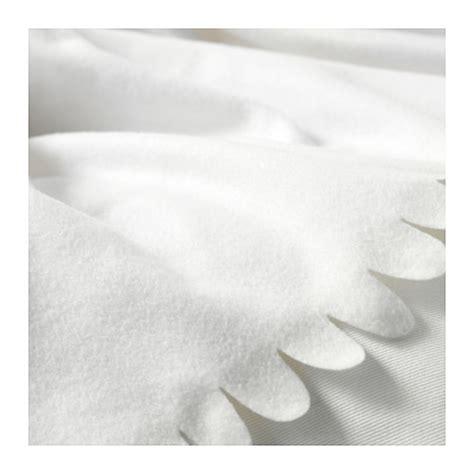 Selimut S Fleece polarvide throw white 130x170 cm ikea