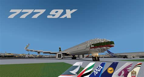 Boeing 777 9X (Dreamliner) Minecraft Project