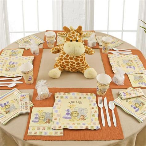 Zoo Baby Shower Ideas by Baby Shower Ideas Zoo Animals Baby Shower Decoration Ideas