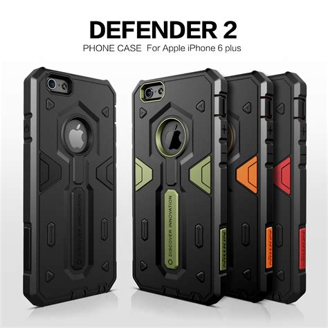 Iphone 6 Plus Armor Defender With Standing Wings Back Cover for apple iphone 6 4 7 quot nillkin defender impact hybrid armor protect cover strong