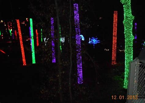 christmas lights picture of piedmont park atlanta